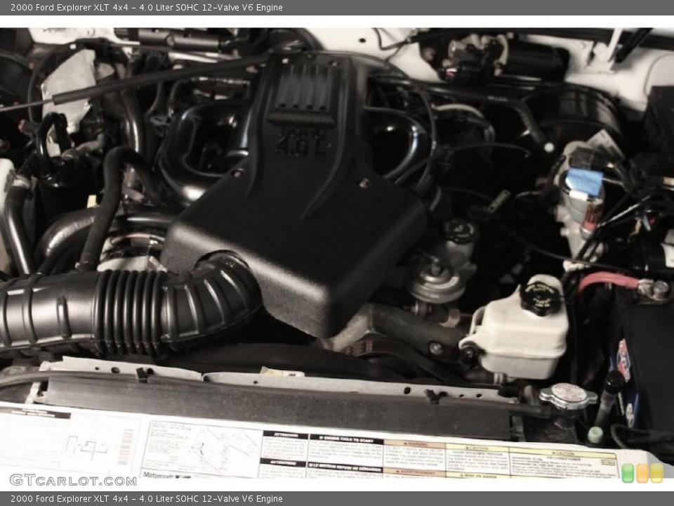 4.0 Liter SOHC 12-Valve V6 Engine for the 2000 Ford Explorer #40021498
