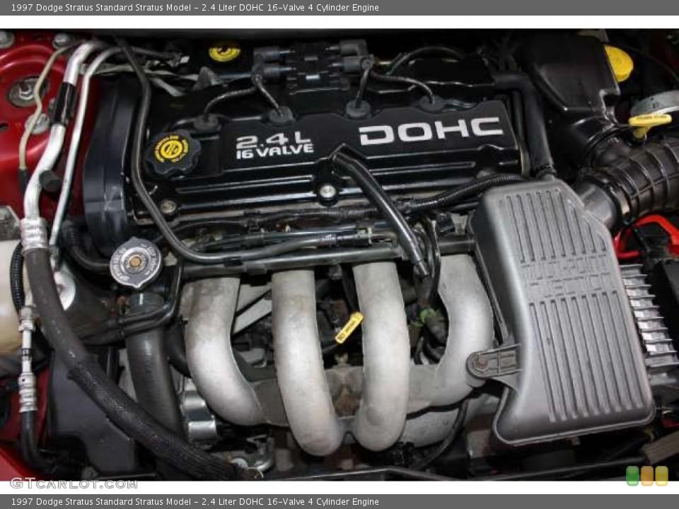 ... DOHC 16-Valve 4 Cylinder 1997 Dodge Stratus Engine | GTCarLot.com