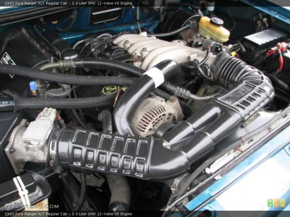 Ford Ranger V6 Engine 3 0
