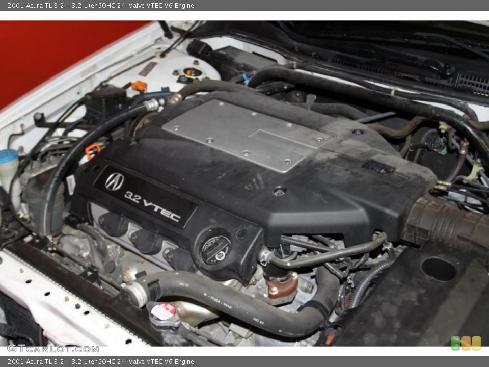 2001 Acura Tl 3 2 >> 3 2 Liter Sohc 24 Valve Vtec V6 Engine For The 2001 Acura Tl