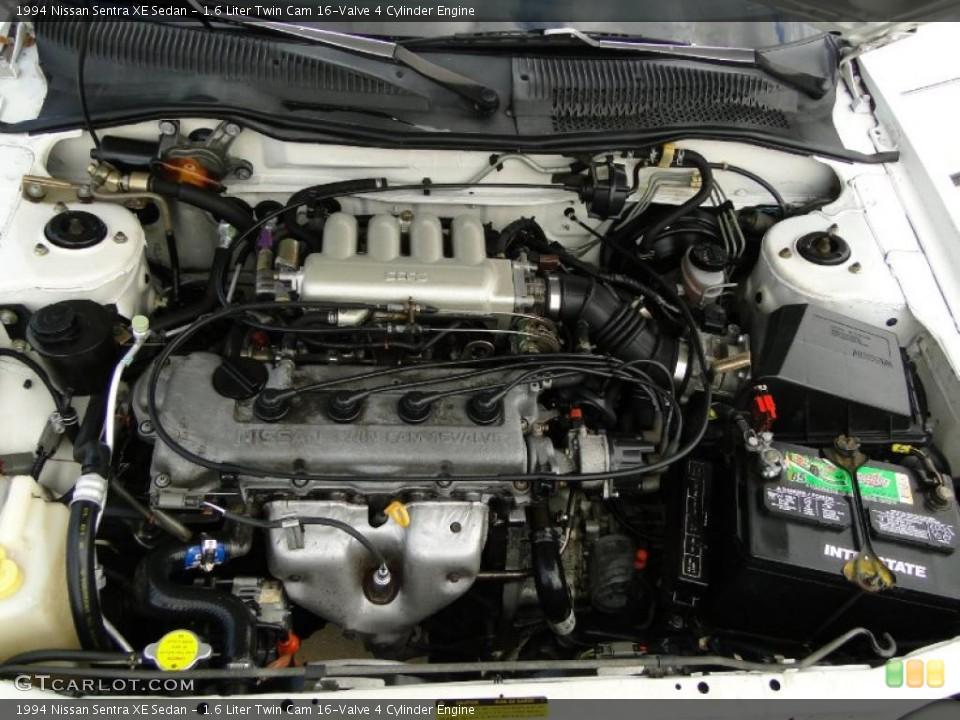 1.6 Liter Twin Cam 16-Valve 4 Cylinder 1994 Nissan Sentra ...