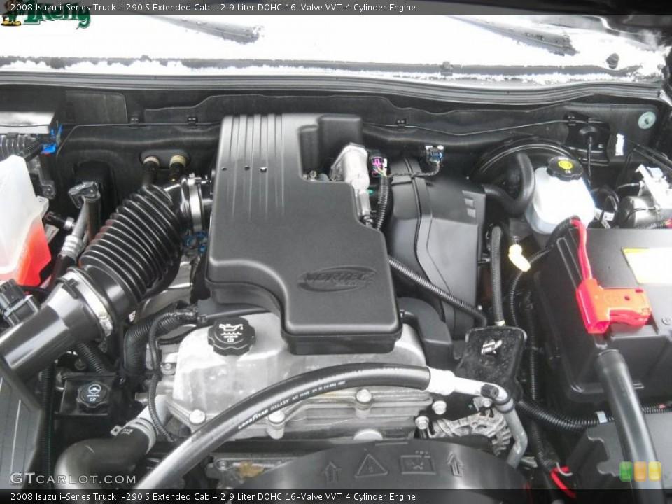 2 9 liter dohc 16 valve vvt 4 cylinder engine for the 2008 isuzu i series truck 41913725