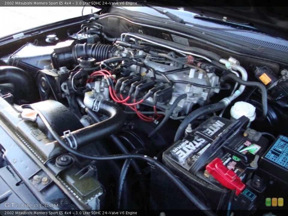 similiar montero sport engine sohc keywords liter sohc 24 valve v6 engine for the 2002 mitsubishi montero sport