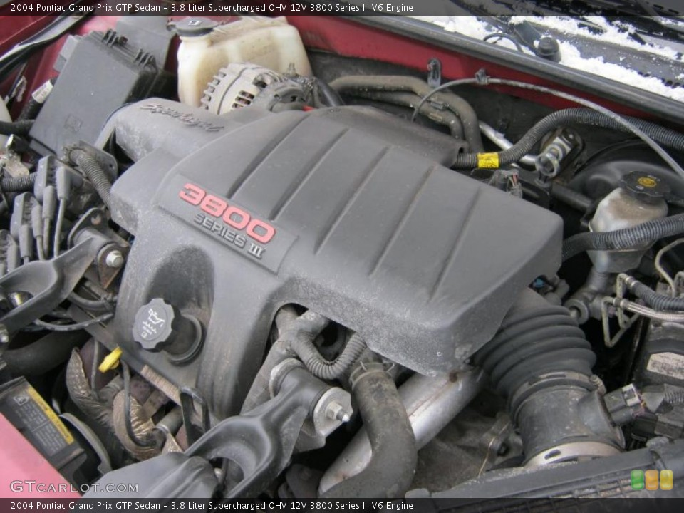 watch more like pontiac grand prix engine 12v 3800 series iii v6 engine on the 2004 pontiac grand prix gtp sedan