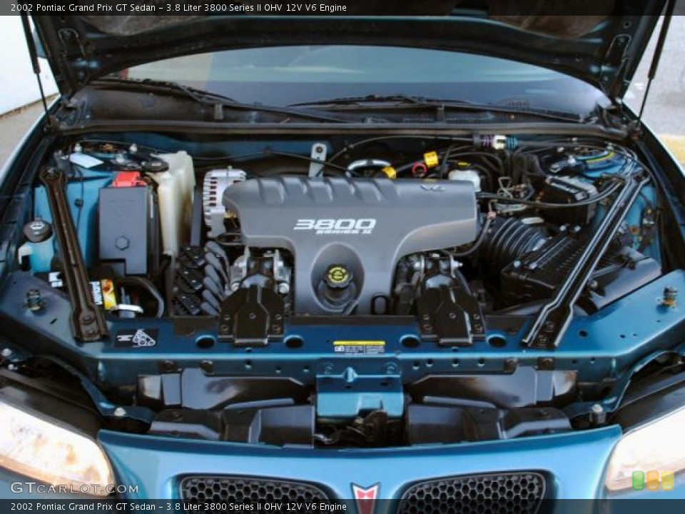 watch more like pontiac grand prix 3800 engine liter 3800 series ii ohv 12v v6 engine for the 2002 pontiac grand prix