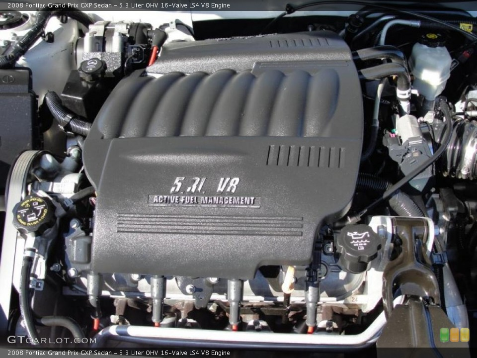 2008 pontiac prix grand ls4 v8 engine valve ohv liter engines gtcarlot gxp