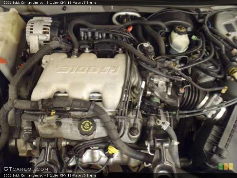31 Liter OHV 12Valve V6    Engine    for the 2001    Buick       Century     44089736   GTCarLot