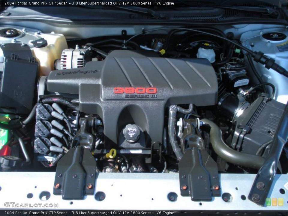 3.8 Liter Supercharged OHV 12V 3800 Series III V6 Engine for the ...