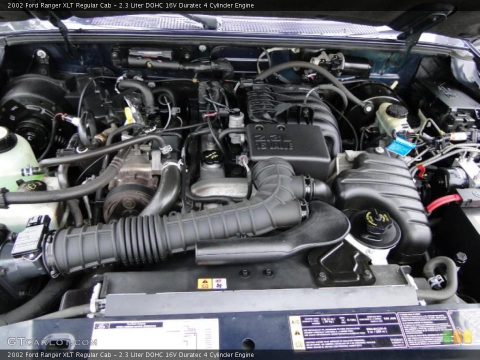 2 3 Liter Dohc 16v Duratec 4 Cylinder Engine For The 2002