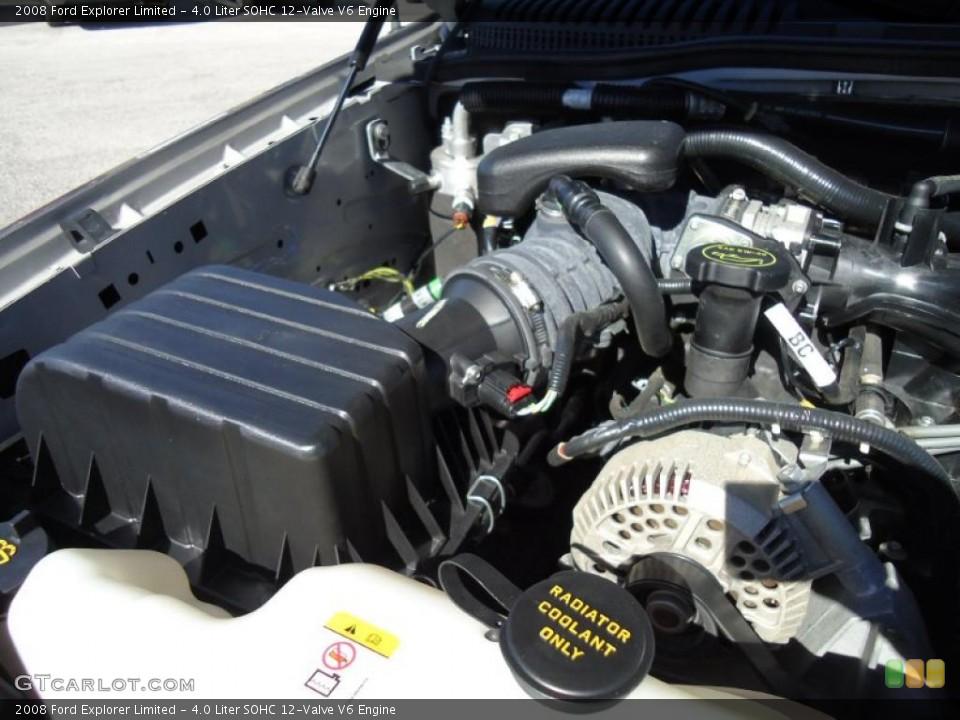 4.0 Liter SOHC 12-Valve V6 Engine for the 2008 Ford Explorer #45303609