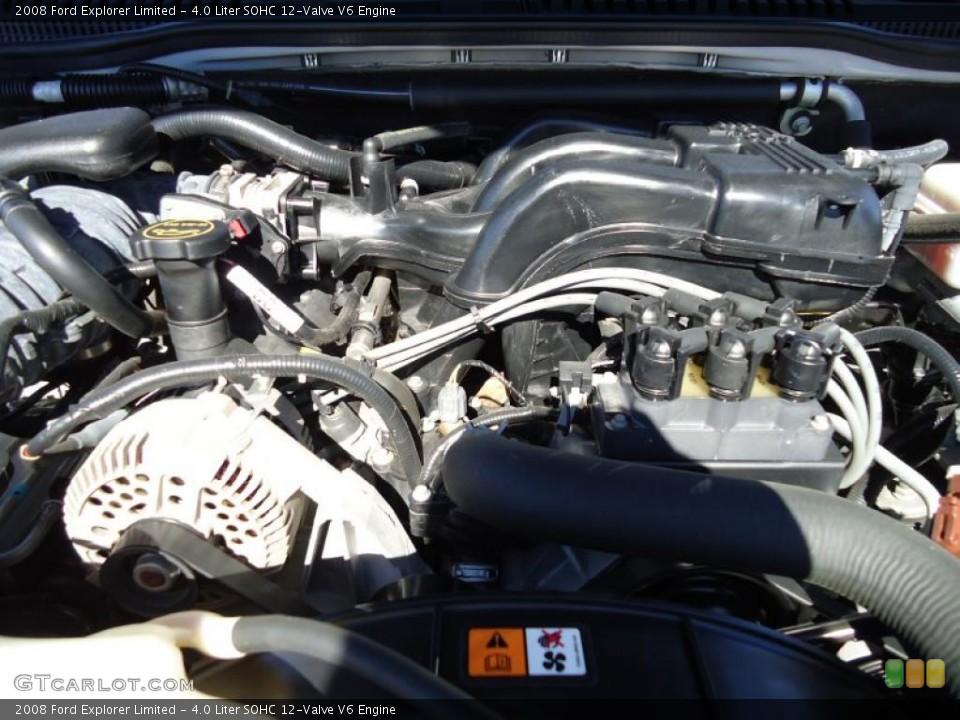 4.0 Liter SOHC 12-Valve V6 Engine for the 2008 Ford Explorer #45303613