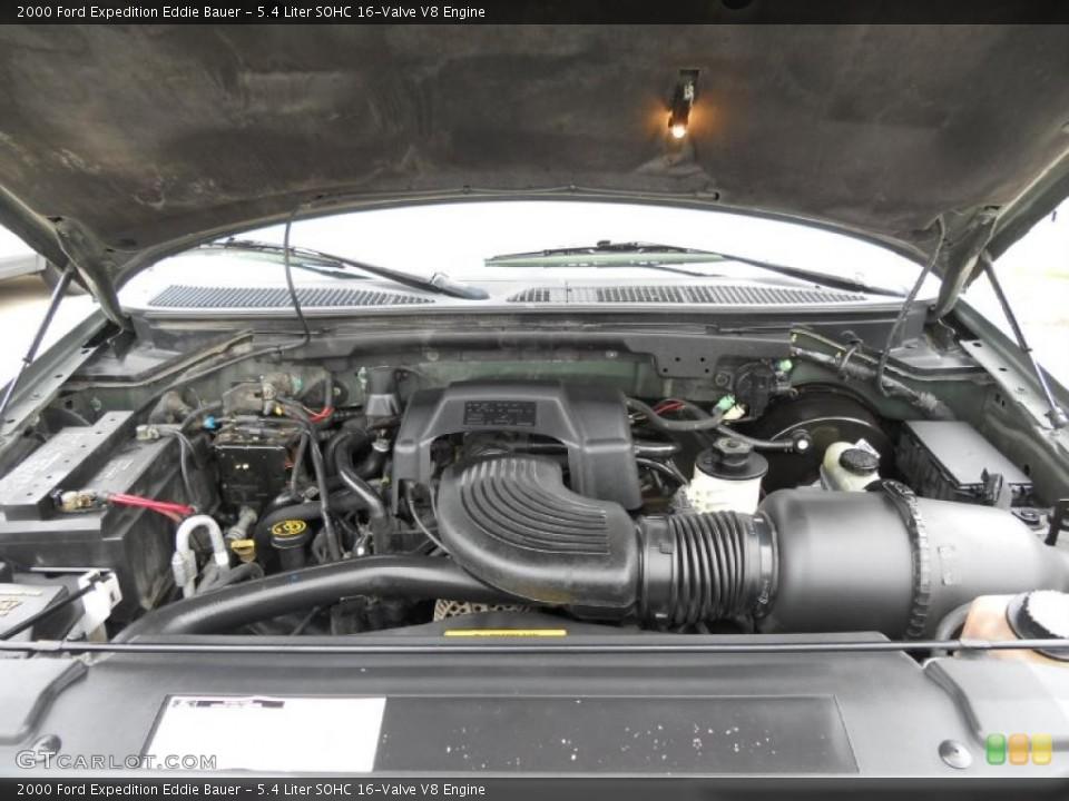 5 4 Liter Sohc 16 Valve V8 Engine For The 2000 Ford Expedition