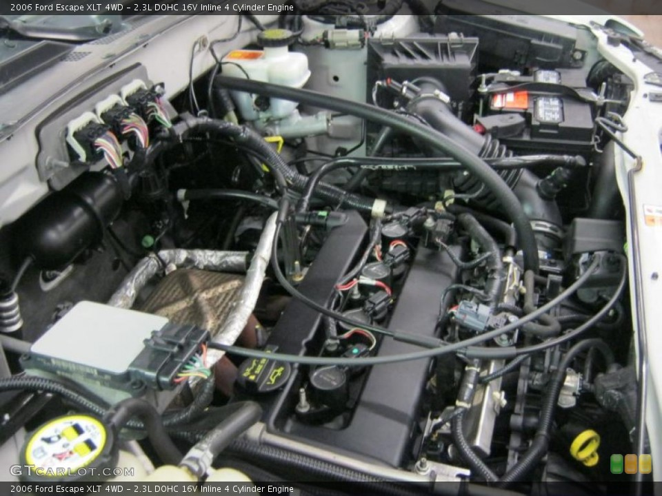 2 3l Dohc 16v Inline 4 Cylinder Engine For The 2006 Ford