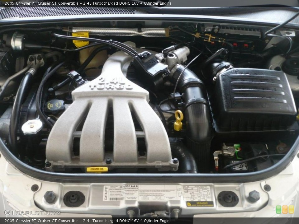 watch more like chrysler 2 4 turbo engine 4l turbocharged dohc 16v 4 cylinder engine for the 2005 chrysler pt