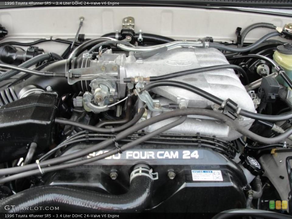 3.4 Liter DOHC 24-Valve V6 Engine for the 1996 Toyota ...