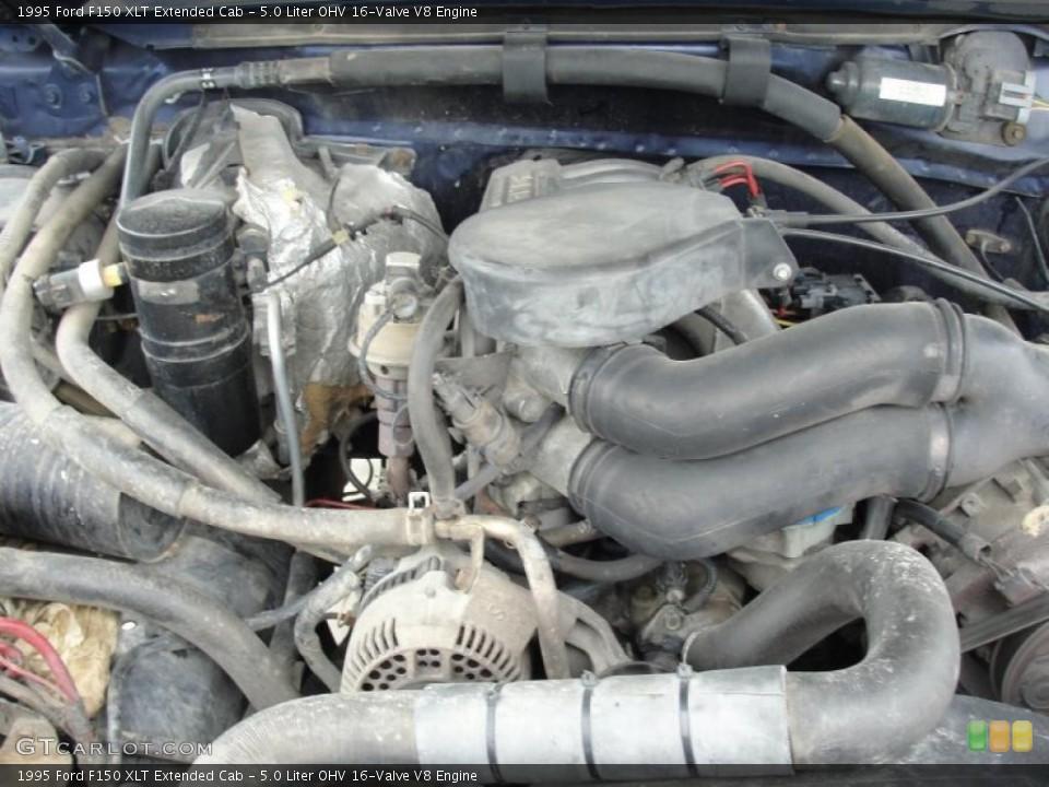 1995 Ford F 150 Engine 50 L V8