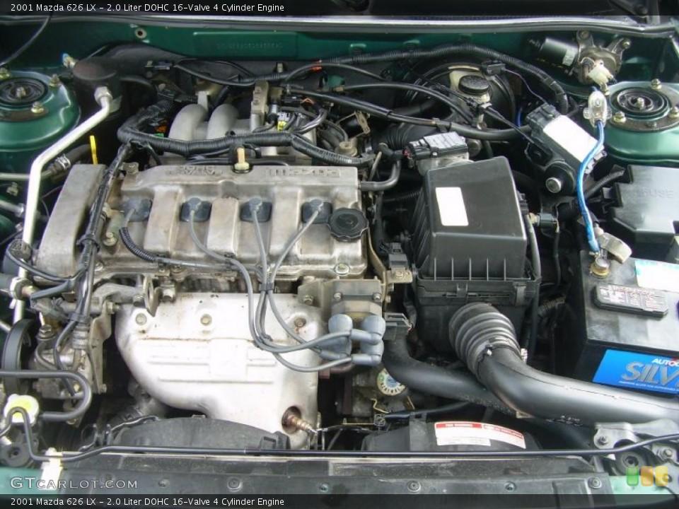 2 0 liter dohc 16 valve 4 cylinder 2001 mazda 626 engine gtcarlot com gtcarlot com