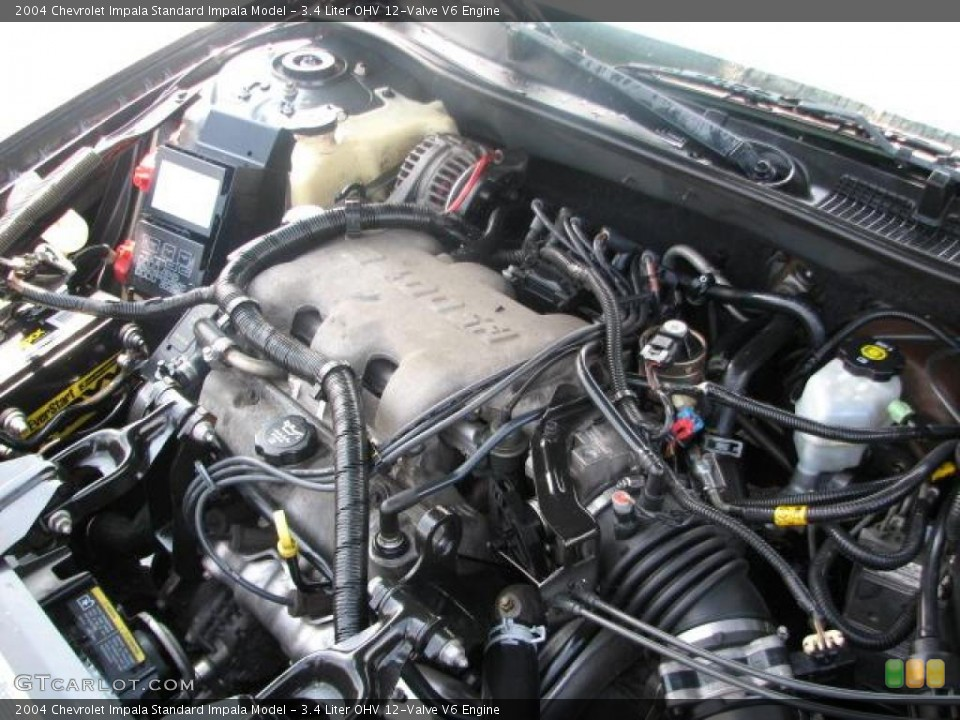3.4 Liter OHV 12-Valve V6 Engine for the 2004 Chevrolet ...