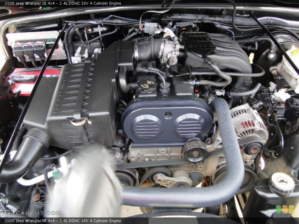 24L DOHC 16V 4 Cylinder Engine for the 2006 Jeep Wrangler
