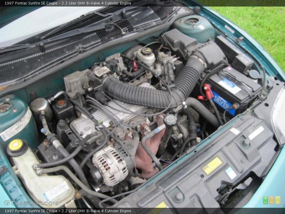 watch more like 1998 pontiac sunfire 2 4 engine liter ohv 8 valve 4 cylinder engine on the 1997 pontiac sunfire se