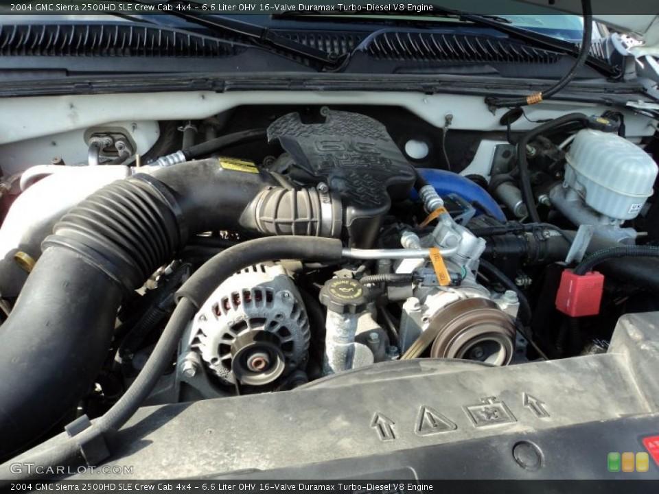 similiar 6 6 turbocharged duramax keywords liter ohv 16 valve duramax turbo diesel v8 2004 gmc sierra 2500hd