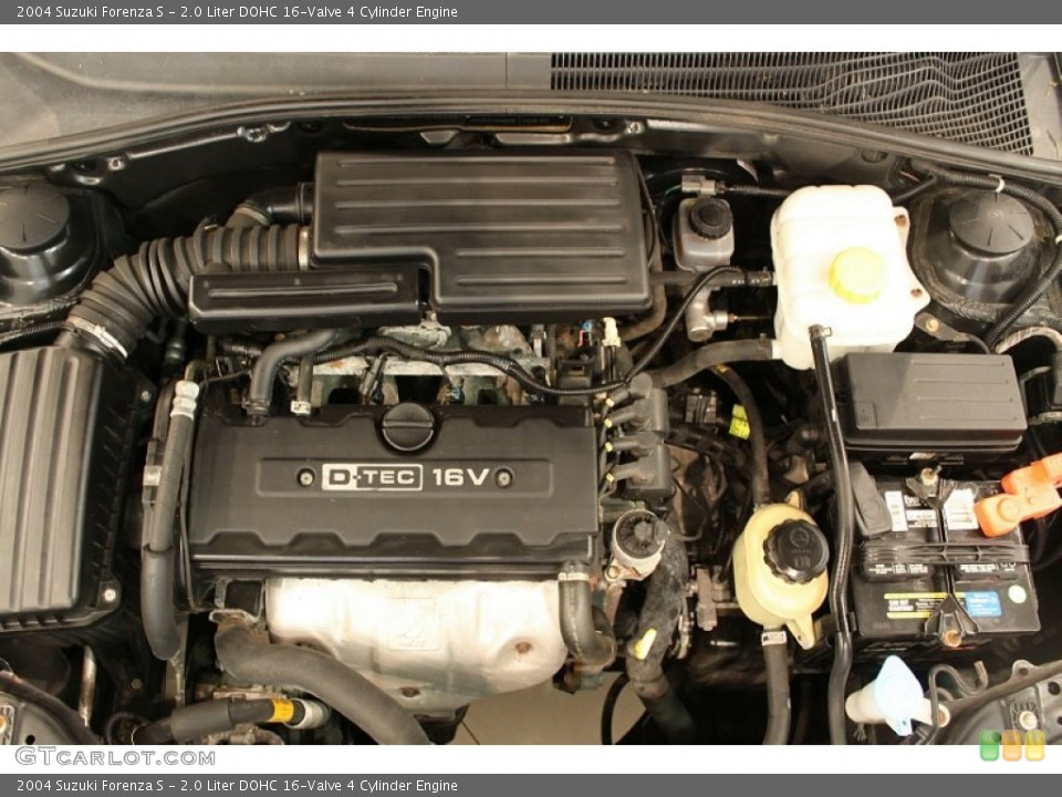 2.0 Liter DOHC 16-Valve 4 Cylinder Engine for the 2004 Suzuki Forenza #50481430