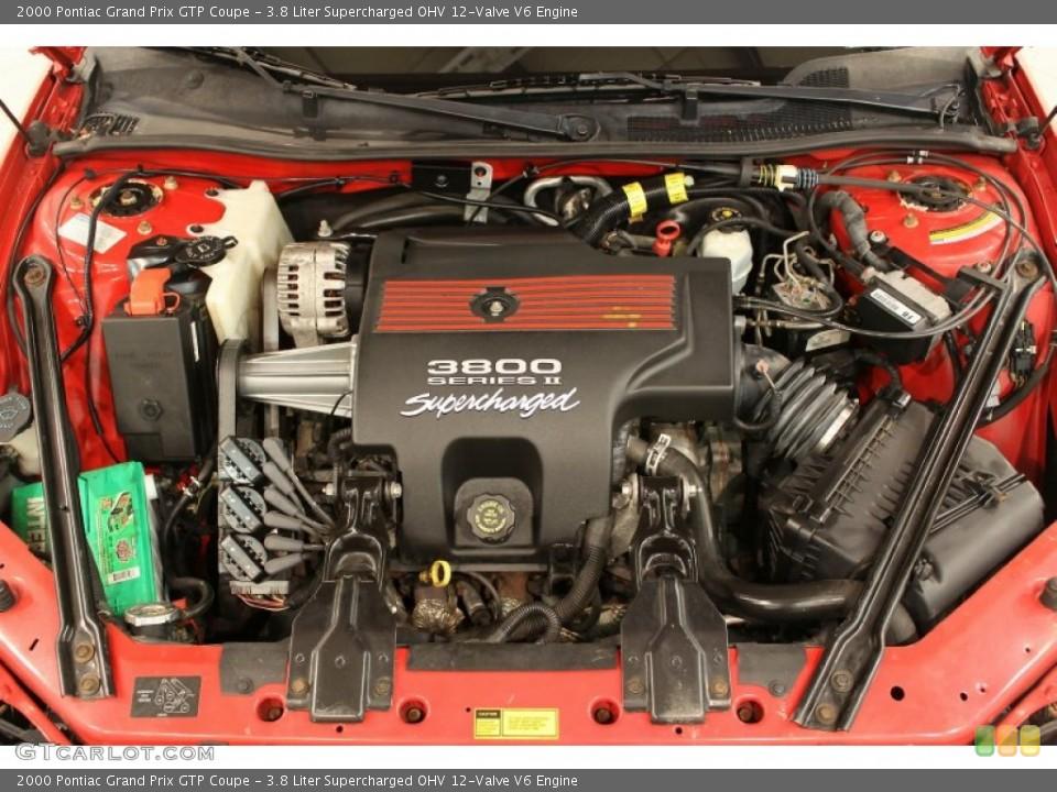 3.8 Liter Supercharged OHV 12-Valve V6 2000 Pontiac Grand Prix ...
