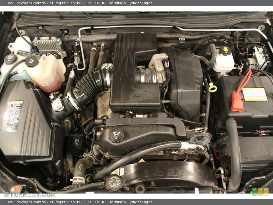 Chevrolet Gallery  2005 Chevrolet Colorado Engine 35 L 5