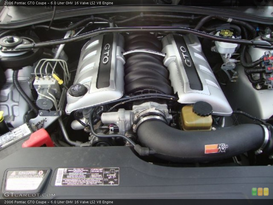 watch more like 6 0 ls2 engine liter ohv 16 valve ls2 v8 engine on the 2006 pontiac gto coupe