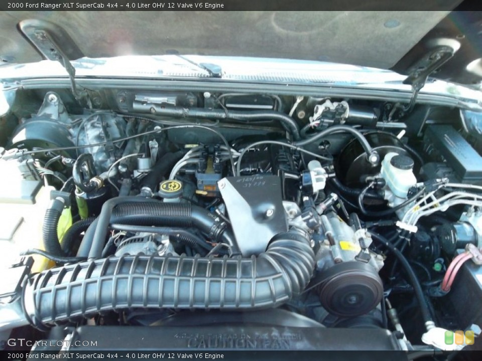 4 0 Liter Ohv 12 Valve V6 Engine For The 2000 Ford Ranger