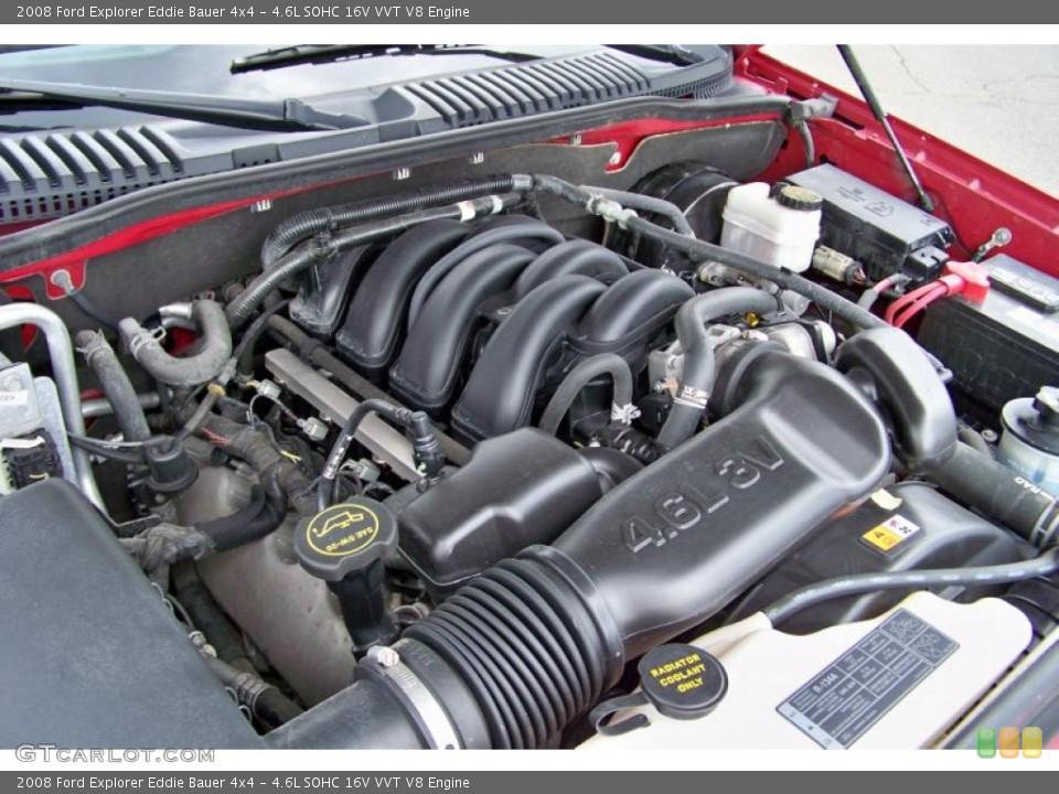 4.6L SOHC 16V VVT V8 Engine for the 2008 Ford Explorer #52757032