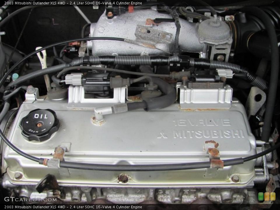 2 4 liter sohc 16 valve 4 cylinder engine for the 2003. Black Bedroom Furniture Sets. Home Design Ideas