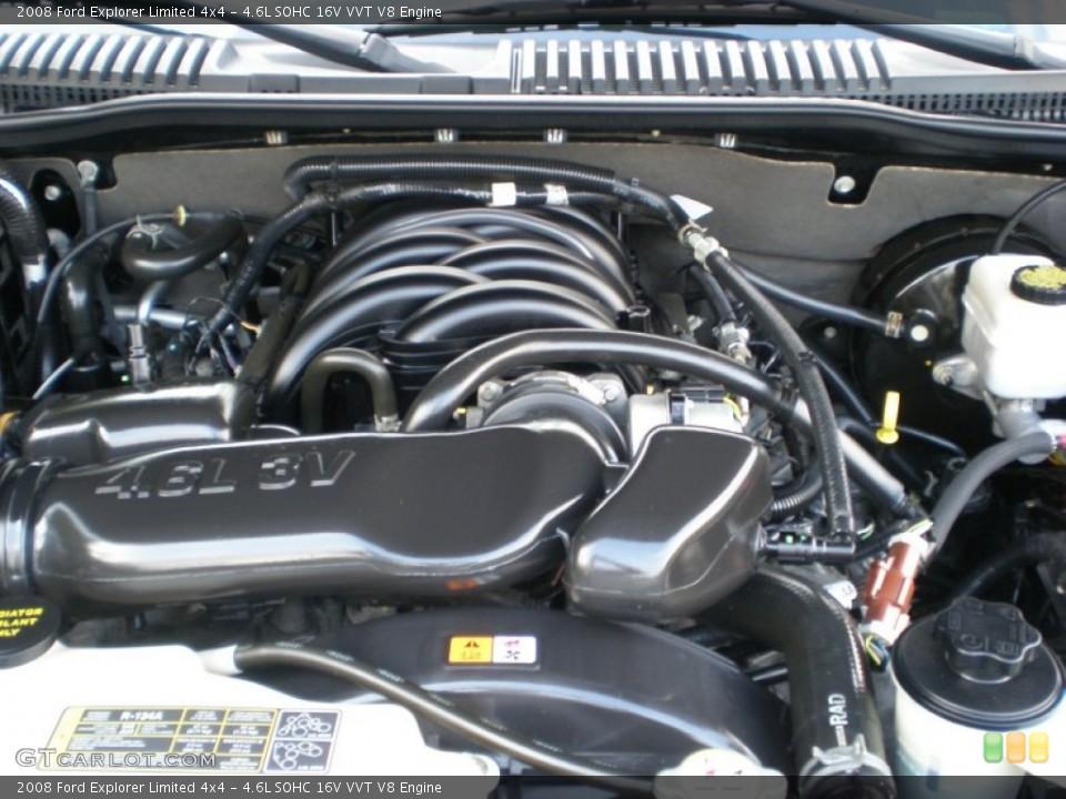 4.6L SOHC 16V VVT V8 Engine for the 2008 Ford Explorer #54790212