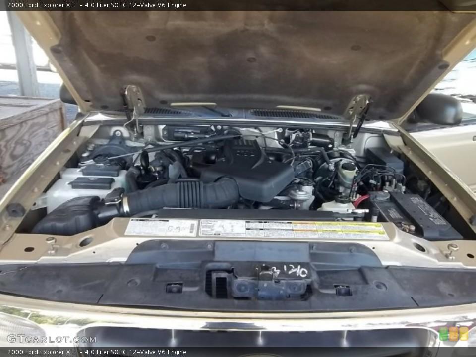 4.0 Liter SOHC 12-Valve V6 Engine for the 2000 Ford Explorer #55301632