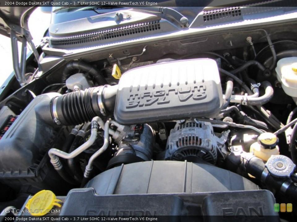 3.7 Liter SOHC 12-Valve PowerTech V6 Engine for the 2004 Dodge ...