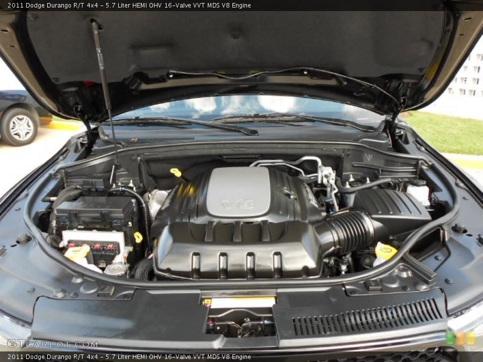 57 Liter Hemi Ohv 16valve Vvt Mds V8 Engine For The 2011 Dodge