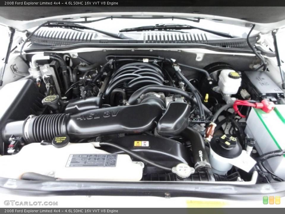4.6L SOHC 16V VVT V8 Engine for the 2008 Ford Explorer #56594289