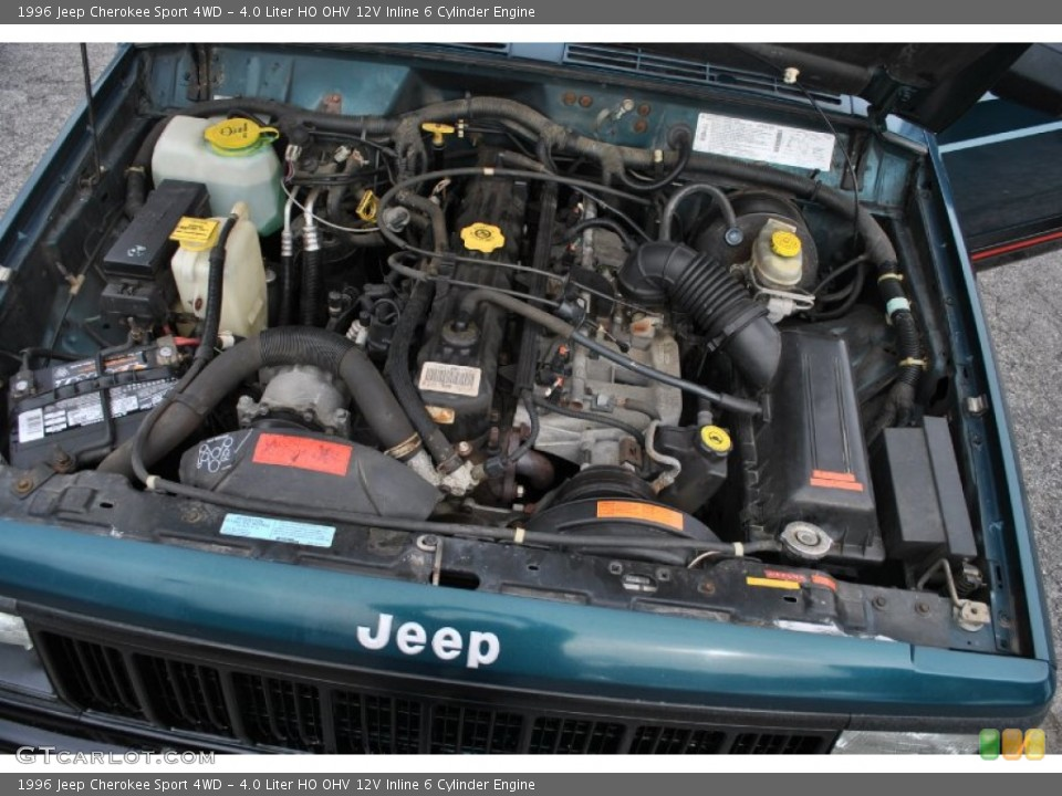 1996 Jeep Cherokee Engine 40 L 6 Cylinder