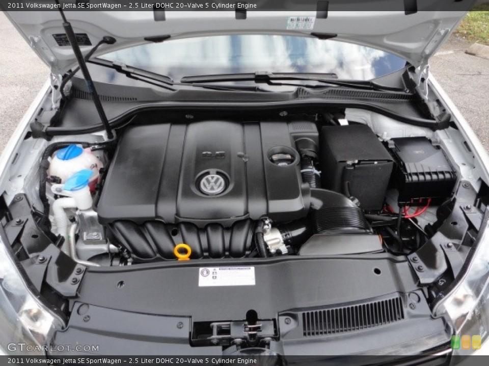 2 5 Liter Dohc 20 Valve Cylinder Engine For The 2017 Volkswagen Jetta 58243085