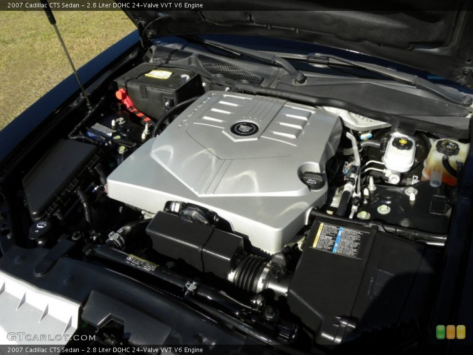 2007 Cadillac CTS 2.8 Engine