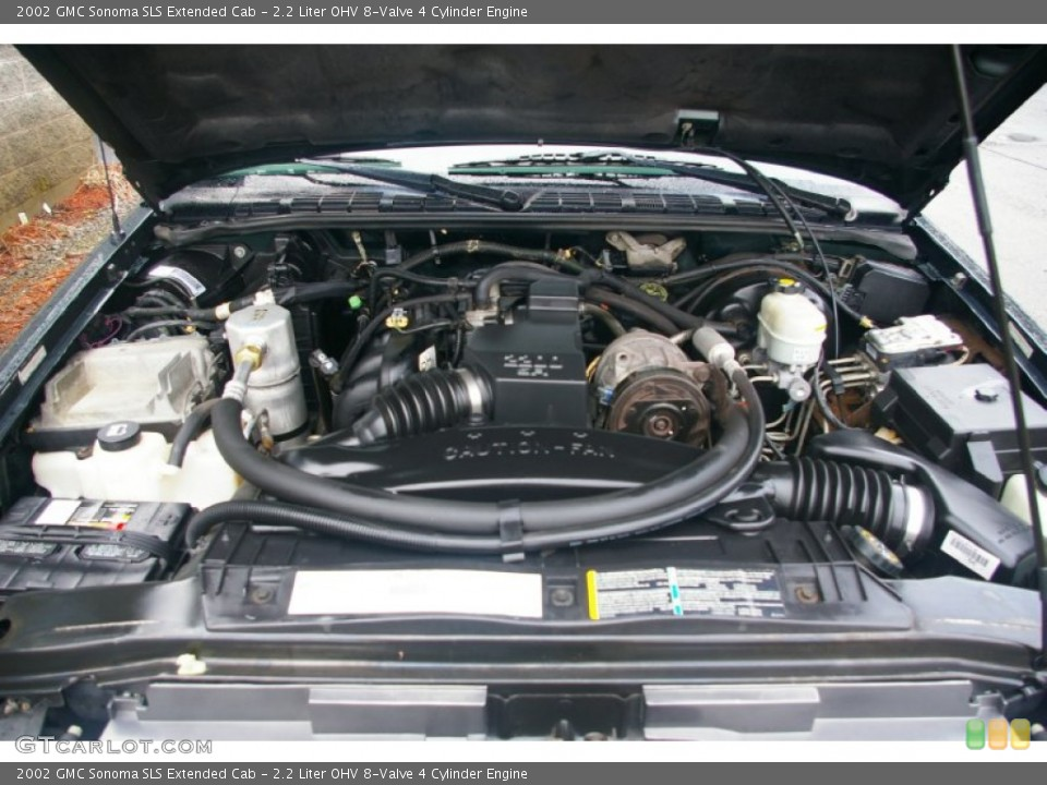 similiar 2 2 gmc sonoma engine keywords liter ohv 8 valve 4 cylinder engine on the 2002 gmc sonoma sl