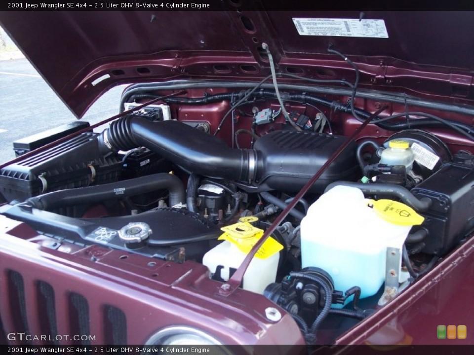 2.5 Liter OHV 8-Valve 4 Cylinder Engine for the 2001 Jeep ...