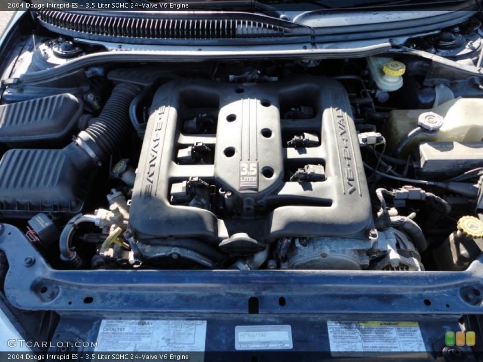 3.5 Liter SOHC 24-Valve V6 2004 Dodge Intrepid Engine ...