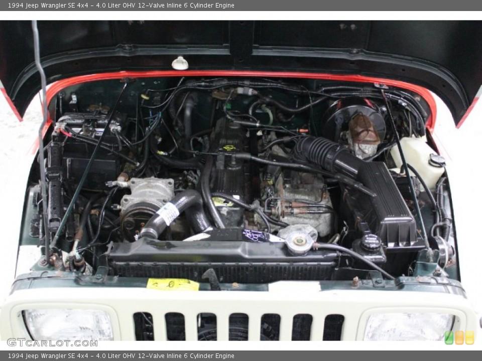 4.0 Liter OHV 12-Valve Inline 6 Cylinder Engine for the ...