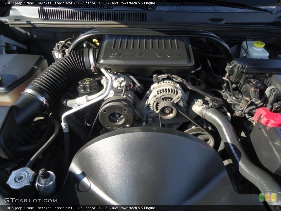 3 7 liter sohc 12 valve powertech v6 engine for the 2006 jeep grand cherokee 60127860. Black Bedroom Furniture Sets. Home Design Ideas