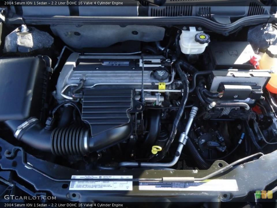 2.2 Liter DOHC 16 Valve 4 Cylinder Engine for the 2004 ...