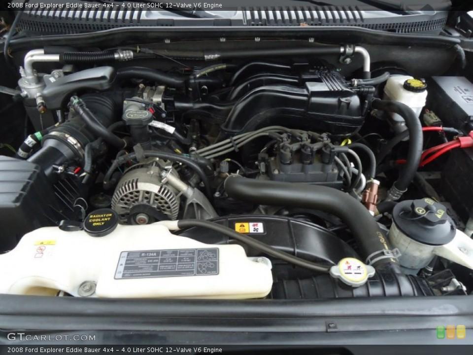 4.0 Liter SOHC 12-Valve V6 Engine for the 2008 Ford Explorer #60648853
