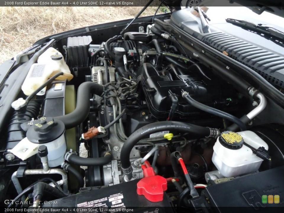 4.0 Liter SOHC 12-Valve V6 Engine for the 2008 Ford Explorer #60648862