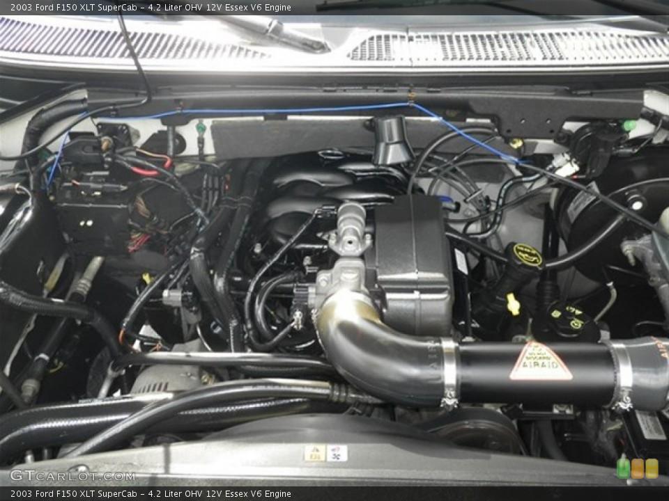 4 2 Liter Ohv 12v Essex V6 Engine For The 2003 Ford F150
