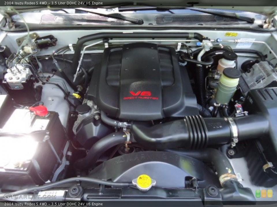 3 5 Liter Dohc 24v V6 Engine For The 2004 Isuzu Rodeo
